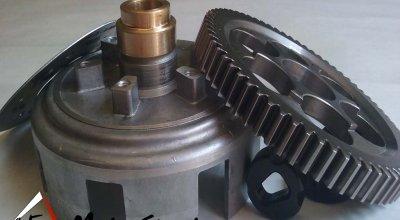 Modifica campana mozzo in bronzo FRIZIONE 4Fun Motorsport per MOTORE PIT BIKE e DIRT BIKE YX 125,140,150,160,Zongshen 155,Lifan 150